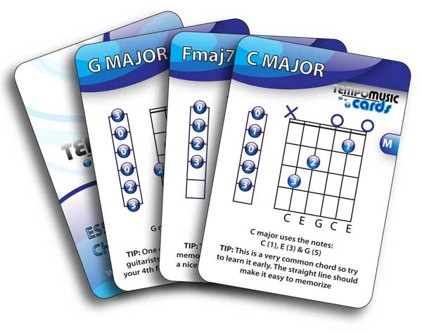 Tempo Music Cards