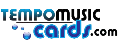 Tempo Music Cards Logo
